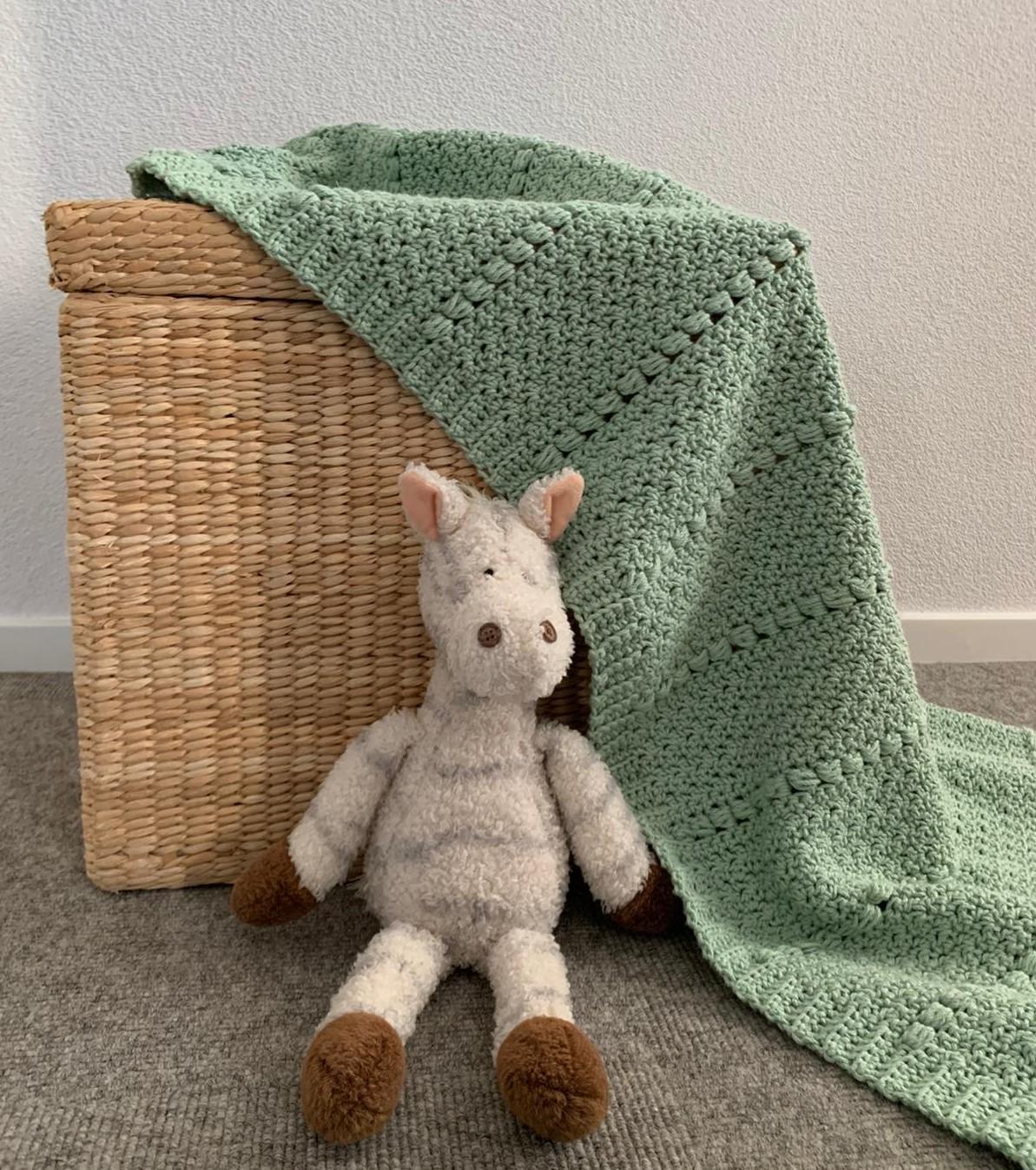 Baby blanket 'Lima' – 4